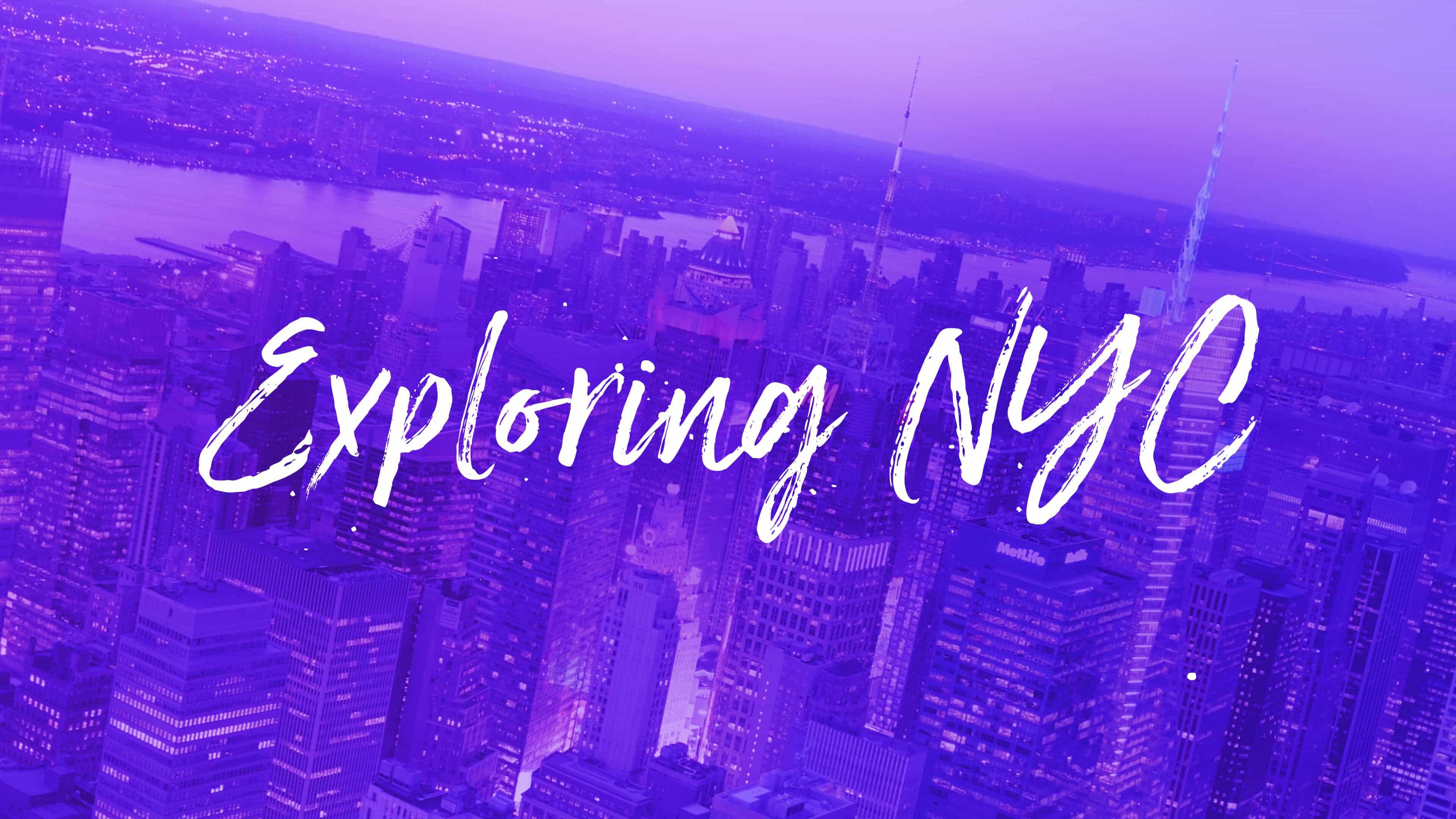 Exploring NYC
